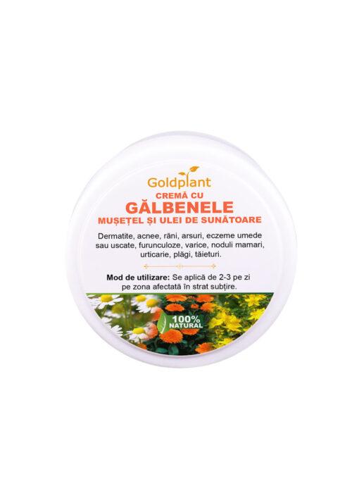 Crema-cu-Galbenele-Musetel-si-Ulei-de-Sunatoare-100ml