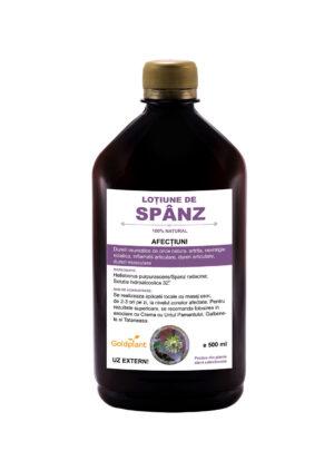 Lotiune de Spanz 500mml