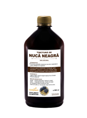 Tinctura de Nuca neagra 500ml