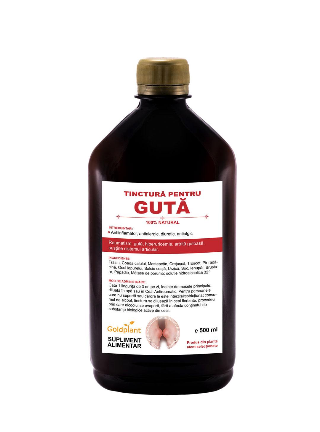 tinctura pentru guta